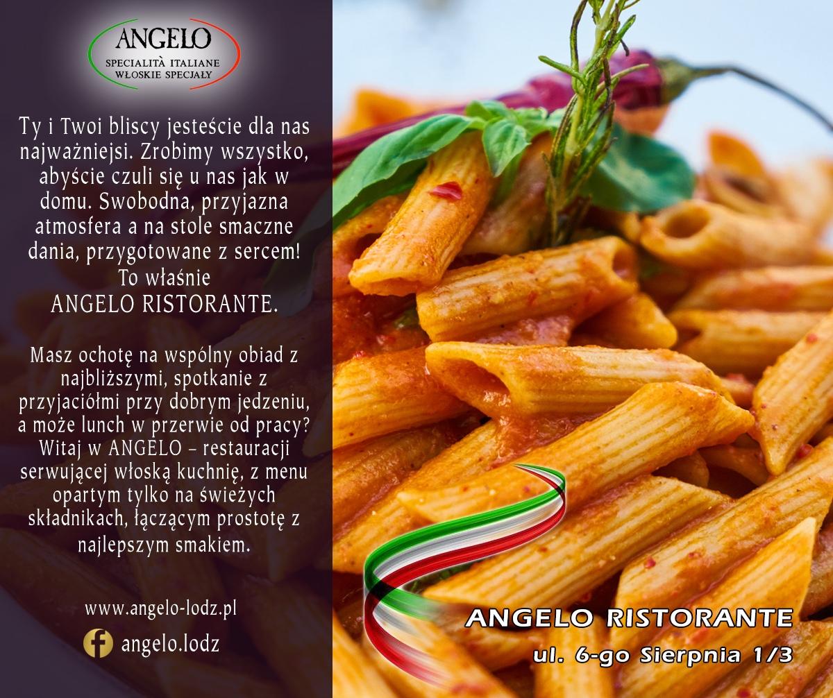makaron włoski Angelo Restauracja Łódź 6-go Sierpnia